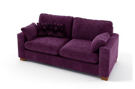 canapé violet convertible canapé 2 places convertible en tissu de qualité cosy