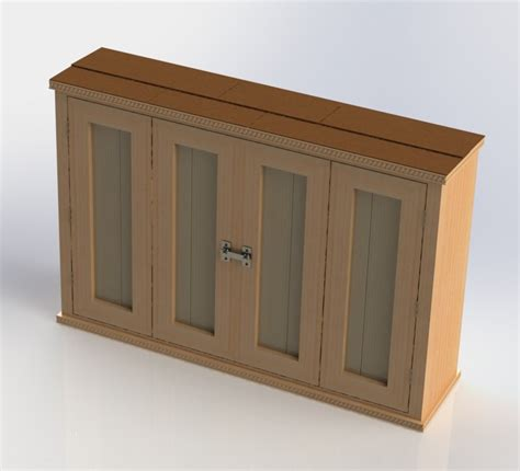 outdoor tv cabinet outdoor tv cabinet with bi fold doors building plan diy