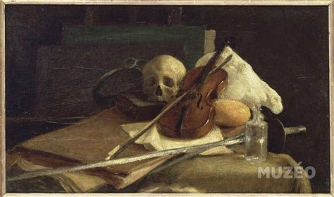 la cuisin nature morte au violon de cuisin charles emile