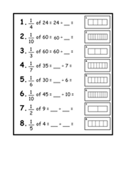 new 620 fraction of a quantity worksheet tes fraction