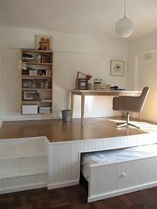 Lit Gain De Place : comment bien choisir un meuble gain de place en 50 photos ~ Premium-room.com Idées de Décoration