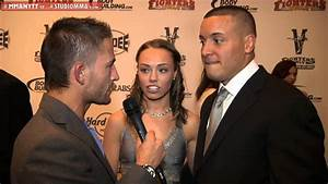 Interview with Pat Barry & Rose Namajunas at the MMA ...