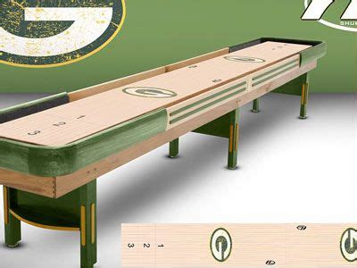 used outdoor shuffleboard table green bay packers shuffleboard table see it at