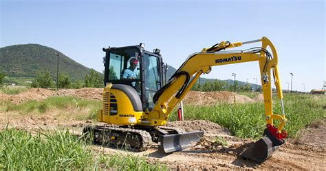komatsu mini excavator pcmr  komatsu