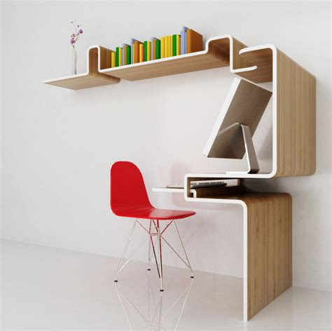 bureau deco design meuble bureau etagere 3 d 233 co design