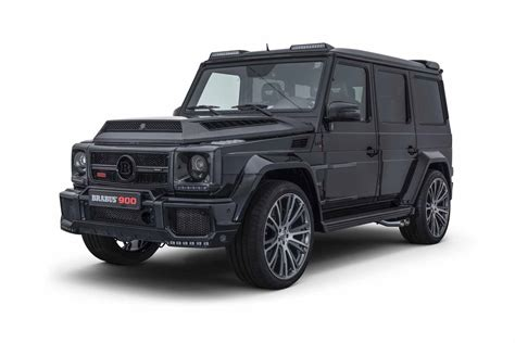 Brabus has Built a 900 HP G Wagen for Crazy People