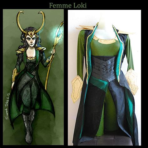 A Female Loki Cosplay I Was Commissioned To Make For A