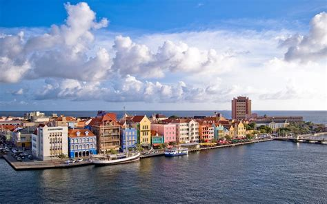 Buildings And City Curacao From Above Desktop Wallpaper Nr