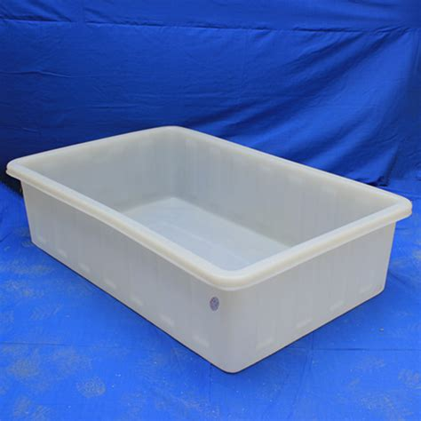 buy plastic tubs 1500l rectangular roto moulding plastic tub for fish buy