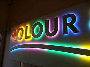 the sign gallery experts specialise in light box signs With illuminated letter signage