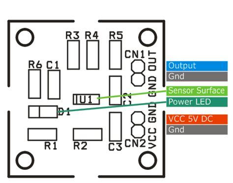 magnetic field sensor using ad22151 electronics lab