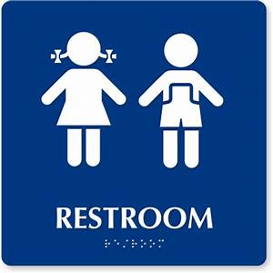 Free Printable Bathroom Signs - ClipArt Best