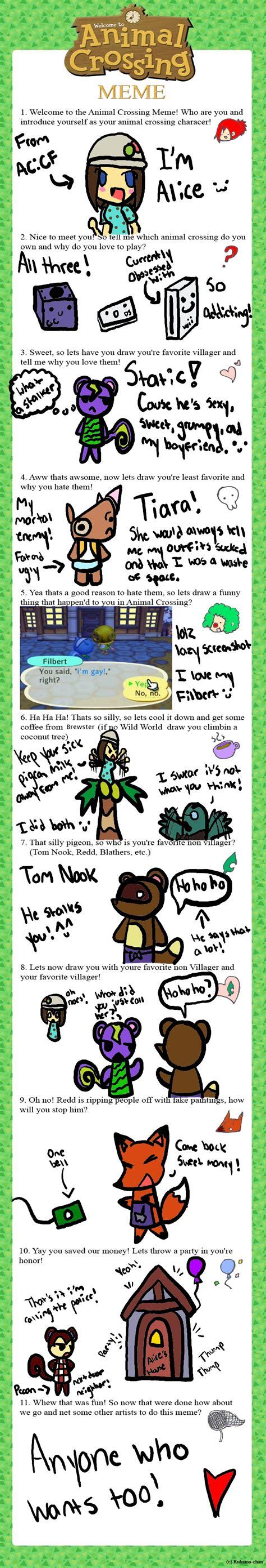 Animal Crossing Memes - animal crossing meme by miharuthekunoichi on deviantart