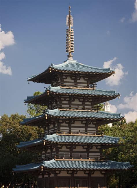 Japanese Pagoda   A Japanese pagoda at the Japan pavilion ...