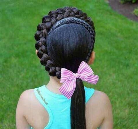 encantadores peinados  nina  tu hija deseara tener