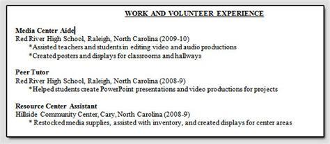 Volunteer Experience Section On Resume by Rop 2013 Week 7 Part 2 Resume