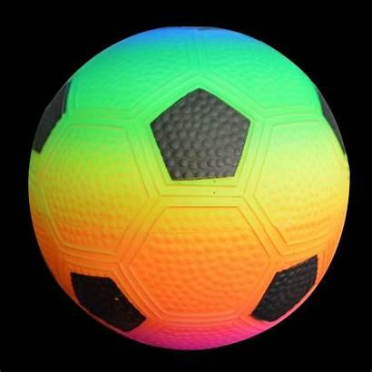 Neon Sports Ball Football Pvc Glowtopia