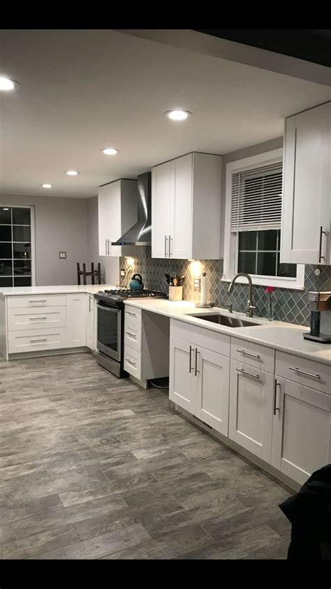 exact color scheme white cabinets white trim