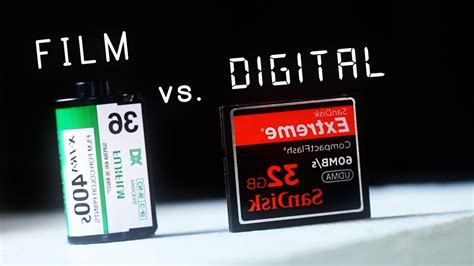 digital comparisons side by side comparisons of digital vs analog