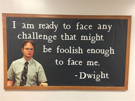 The 25+ Best The Office Quotes Dwight Ideas On Pinterest