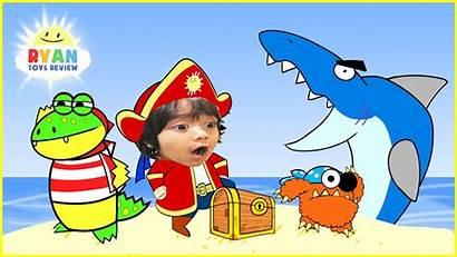 Ryan Toysreview Cartoon Pirate Shark Adventure Children