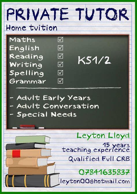 image result  tutor leaflet tutoring flyer flyer