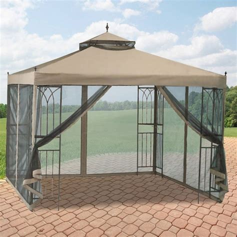 walmart patio gazebo canopy garden winds replacement canopy for gazebos sold at