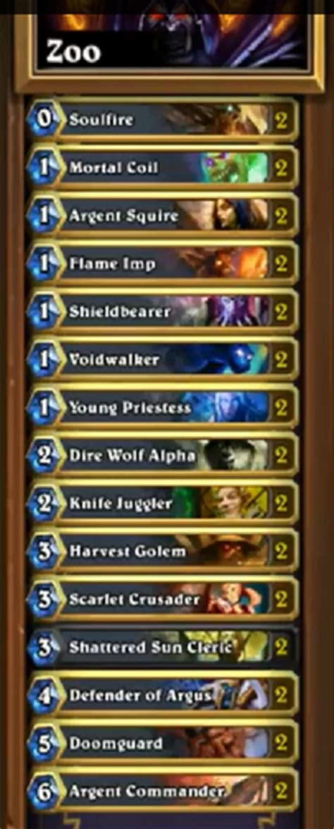 basic warlock deck reddit reynad here with the best deck in the right now it s
