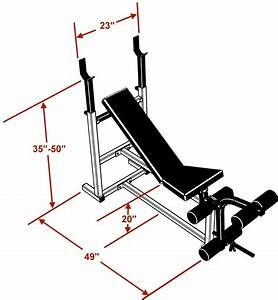 Standard Weight Bench By Deltech Fitness