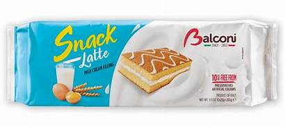 Snack Balconi Latte Al Cakes Milk Cream