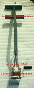 Hvac Compressor Hoist Ladder Condensing Unit Crane Ch2