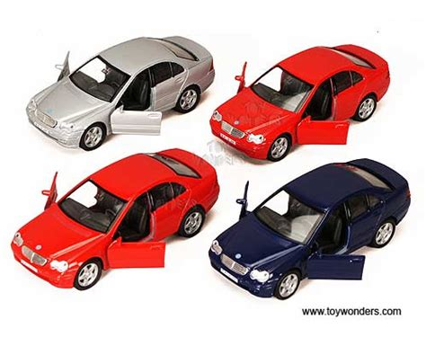 Kids love to crash toy cars. Diecast Collector Model Cars Welly - Mercedes-Benz C-Class Hard Top (1:34-1:39, Asstd.) 42319D ...