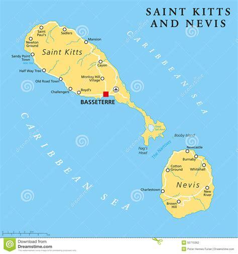 Mapa Basseterre