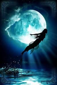 Mermaid moon | Fantasy - Merfolk and Mertales | Pinterest