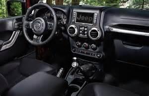 2015 Jeep Wrangler Sahara Interior