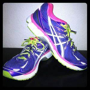 off asics Shoes Asics GT 2000 purple pink neon green
