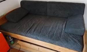 Sofa Für Jugendzimmer : bett husse f r grau 2x1m verwandlung bett in sofa ~ Michelbontemps.com Haus und Dekorationen