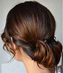 Coiffure Simple Femme : coiffure simple quotidienne coiffure simple et facile ~ Melissatoandfro.com Idées de Décoration