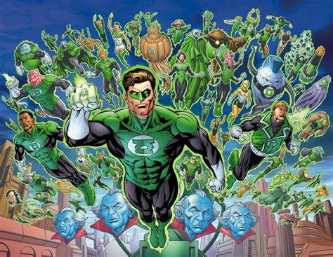 dc comics can a handless character join the green lantern corps science fiction