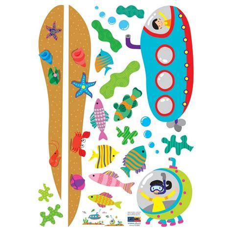 stickers marin chambre bébé stickers sous marin chambre enfant pas cher stickers