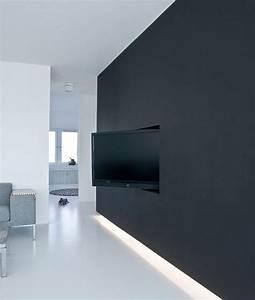 Tv Wand Modern : 25 best ideas about tv wand modern on pinterest moderne ~ Michelbontemps.com Haus und Dekorationen