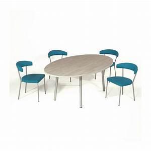 table ovale cuisine cool table de cuisine ronde table With deco cuisine pour table salle À manger ovale avec rallonge