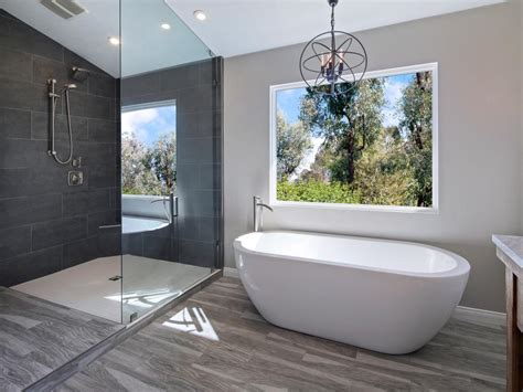 Spa Type Bathrooms by Luxurious Walk In Showers Hgtv
