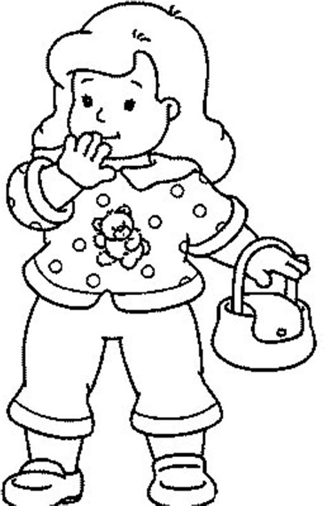 transmissionpress girl   purse kids coloring pages