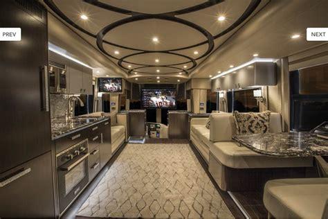 Modern And Elegant Interior Rv. Wow!!!!!