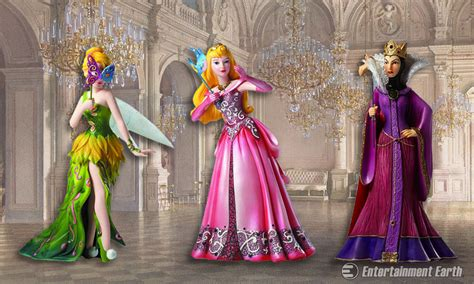 attend  masquerade ball  stunning  disney statues