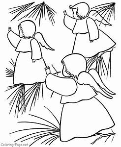 angel coloring pages to print - printable christmas angels coloring home