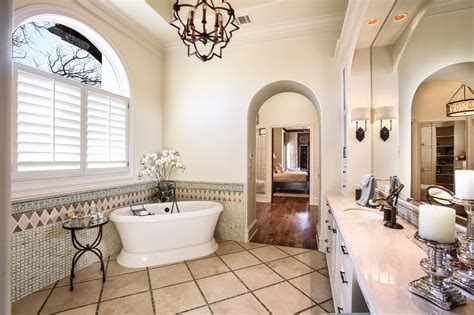 Bathroom : Enchanting Mediterranean Bathroom Designs You Must See