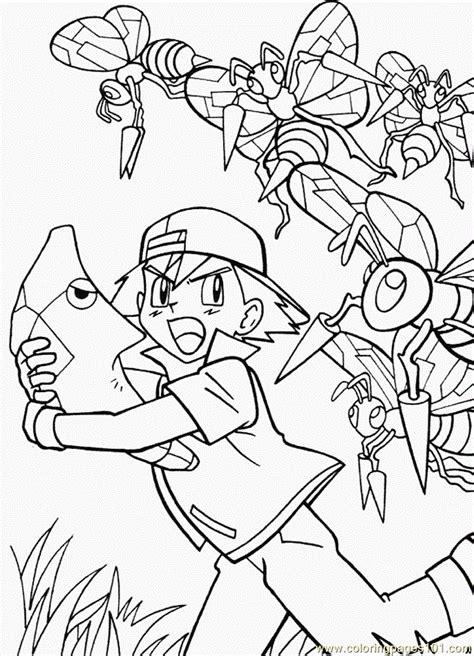 ash ketchum coloring page  ash ketchum coloring pages coloringpagescom
