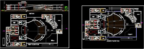 auditorium dwg block  autocad designs cad